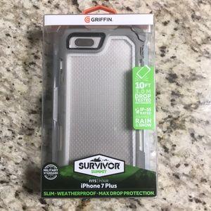 New iPhone 7 Plus survivor summit case. Black